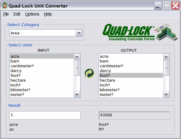 Convert, convertitore di misure universale - Sitissimo.com