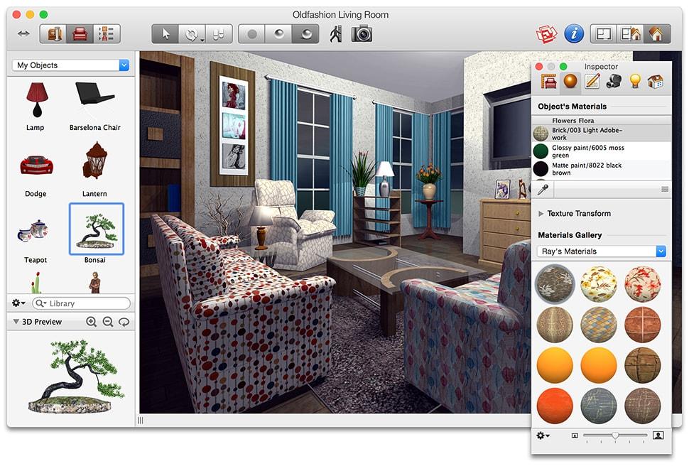 Design Computer Programs Mac 2 Live Interior 3D Free