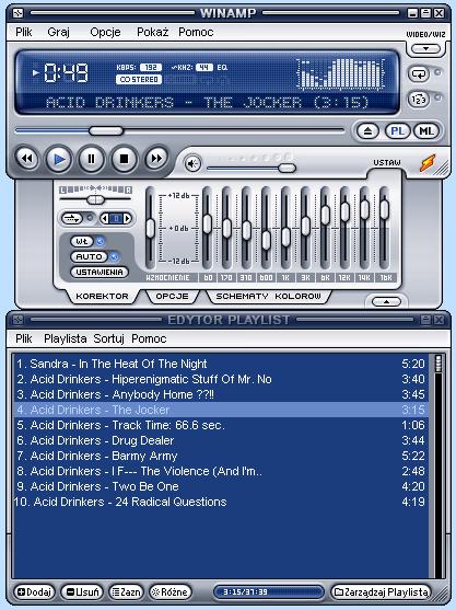 Winamp 5.65 build 3438 Lite download (pobierz za darmo)